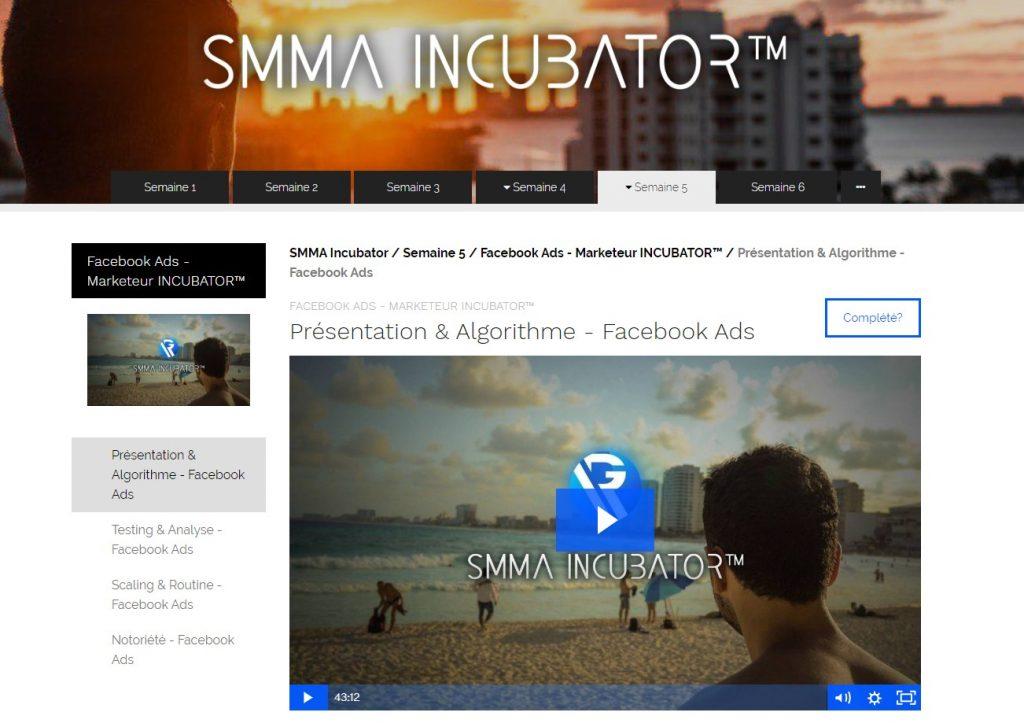 Semaine 5 : marketeur incubator